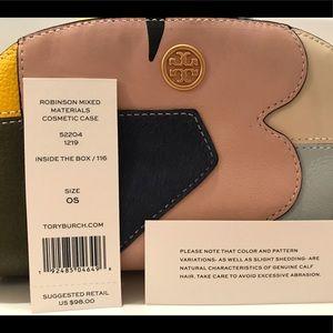NWT Tory Burch Small Cosmetic Bag